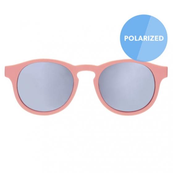 С/з очки Babiators Blue Series Polarized Keyhole. Уезжаю на выходные (The Weekender). Дыня. Серебряные зеркальные линзы. Classic (3-5)