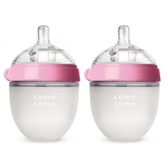 Набор из двух бутылочек для кормления Comotomo (150 мл)