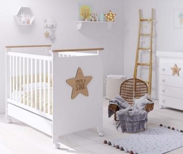 Кроватка Micuna Baby Star 120x60