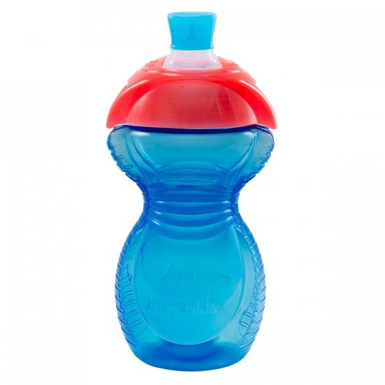 Munchkin поильник - чашка Click Lock с носиком 270 мл 9+ голубой
