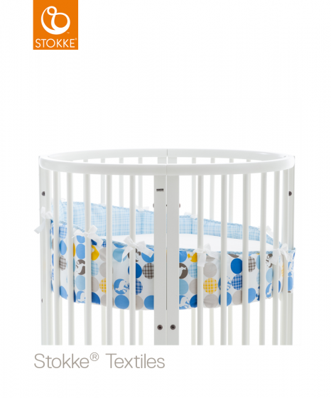 Бампер для люльки Stokke Sleepi Mini, SILHOETTE BLUE