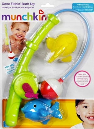 Munchkin игрушки для ванны Весёлая рыбалка 24+