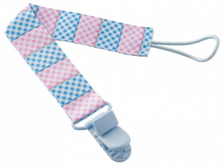 Держатель для пустышек Голубой-Розовый Roxy Kids