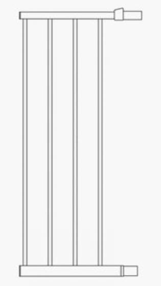 Munchkin Дополнительная секция к воротам 28см (белый)