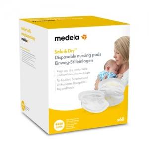 Medela одноразовые прокладки для бюстгалтера Safe & Dry™