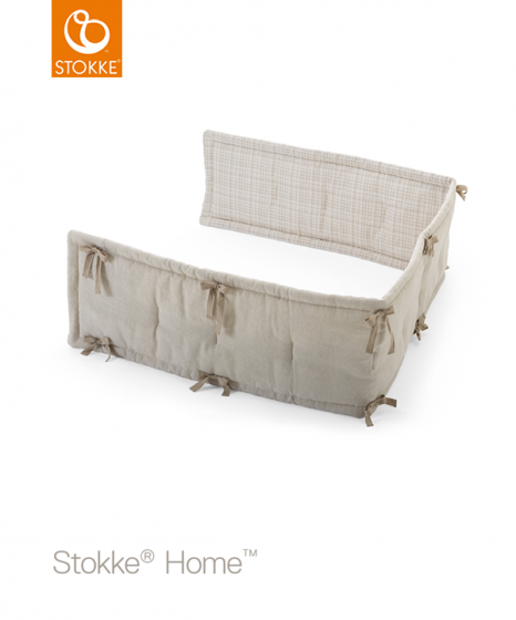 Бампер Бежевый для кроваток Home, Sleepi Bed