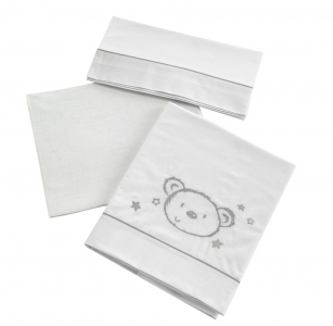 Сменный комплект белья 120х60 Micuna Sweet Bear TX-821