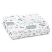Одеяло из муслинового хлопка fores fantasy-deer aden+anais