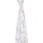 Муслиновая пеленка White label Pacific paradise cranes 120*120см