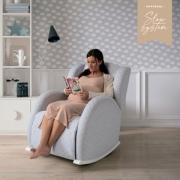 Кресло-качалка Micuna Flor Slow System White/Grey Galaxy