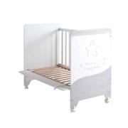 Кроватка Micuna Cosmic 120*60 White/Ash