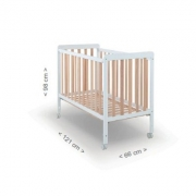 Кроватка Micuna Nordika 120x60