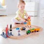 Маленький набор железной дороги Hape