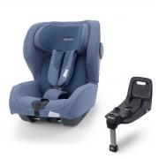 Автокресло Recaro Kio i-Size Prime Sky Blue+база(60-105см) до 18кг 3м+