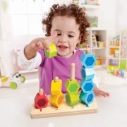 Разноцветные кубики считалки Hape